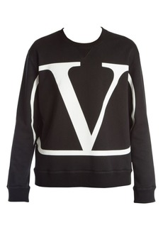 Valentino Go Logo Crewneck Pullover