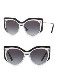 Valentino Grad 53MM Cat-Eye Sunglasses