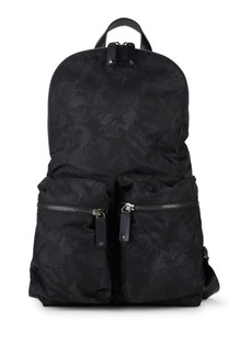 Valentino Graphic Buckled Backpack