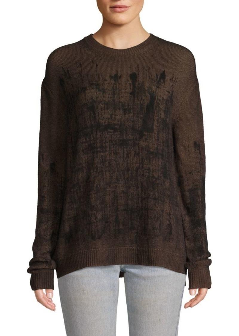 Valentino Graphic Cashmere Sweater