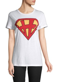 Valentino Graphic Cotton Jersey Tee
