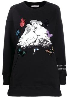 Valentino graphic print jumper