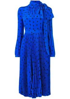 Valentino heart print midi dress