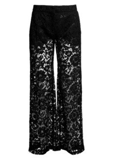 Valentino Heavy Lace Trousers