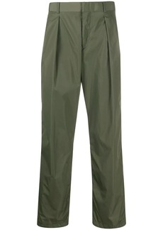 Valentino high-waisted straight-leg trousers