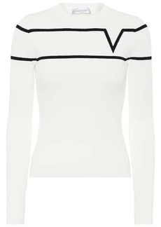 Valentino Intarsia sweater