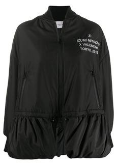 Valentino Izumi Miyazaki print bomber jacket