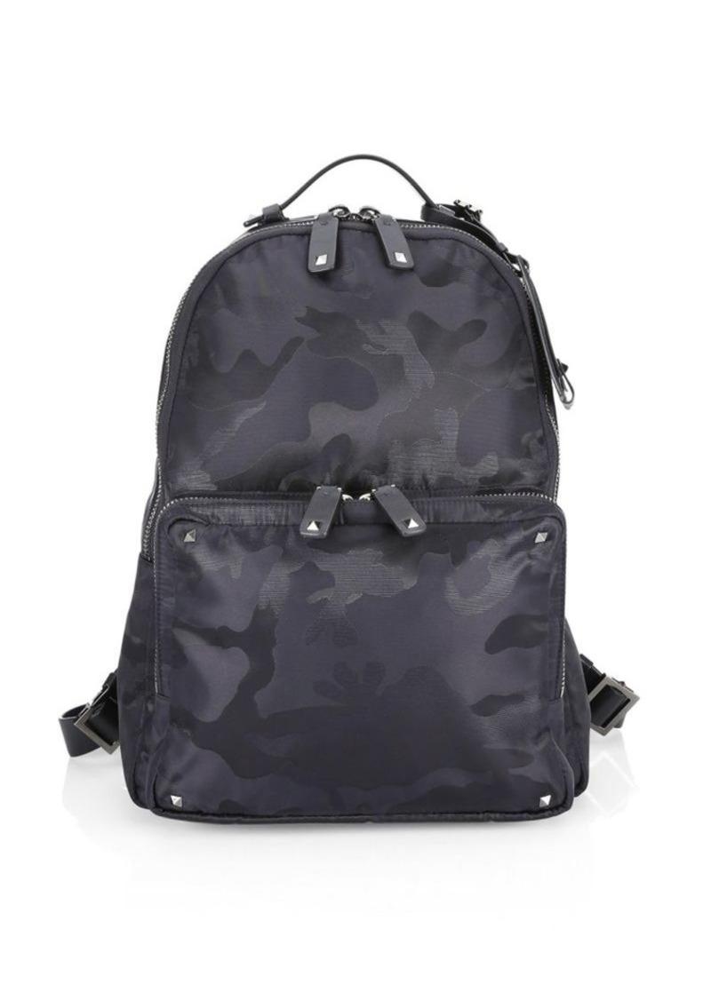 baf291d4e8b Valentino Jacquard Camo Backpack | Bags