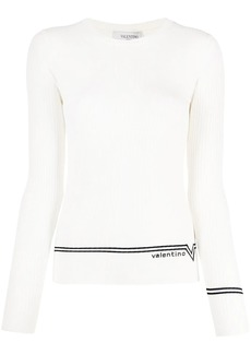 Valentino knitted crewneck jumper