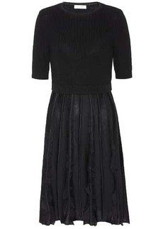 Valentino Knitted wool dress