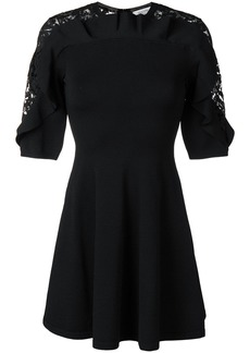 Valentino lace insert dress