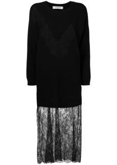 Valentino lace knit dress