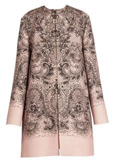 d13e0bb71dd Valentino Valentino Leopard-print brocade coat | Outerwear