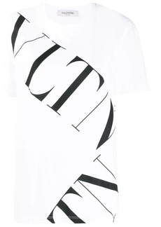 Valentino large contrasting logo T-shirt