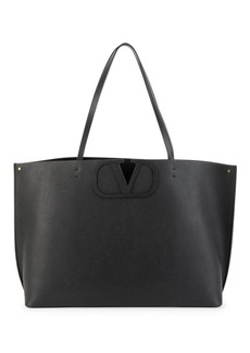 Valentino Garavani Large VLogo Leather Tote