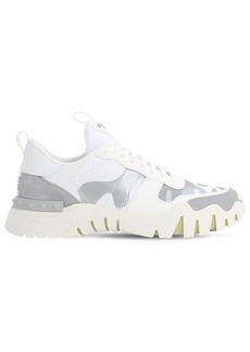 Valentino Leather & Canvas Sneakers