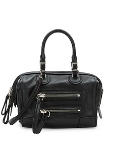 Valentino Leather Duffle Bag