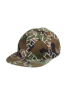 Valentino Garavani VLTN Grid Camouflage Baseball Cap