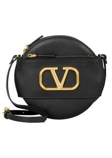 Valentino Logo Circle Crossbody Bag