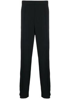 Valentino logo detail straight-leg trousers