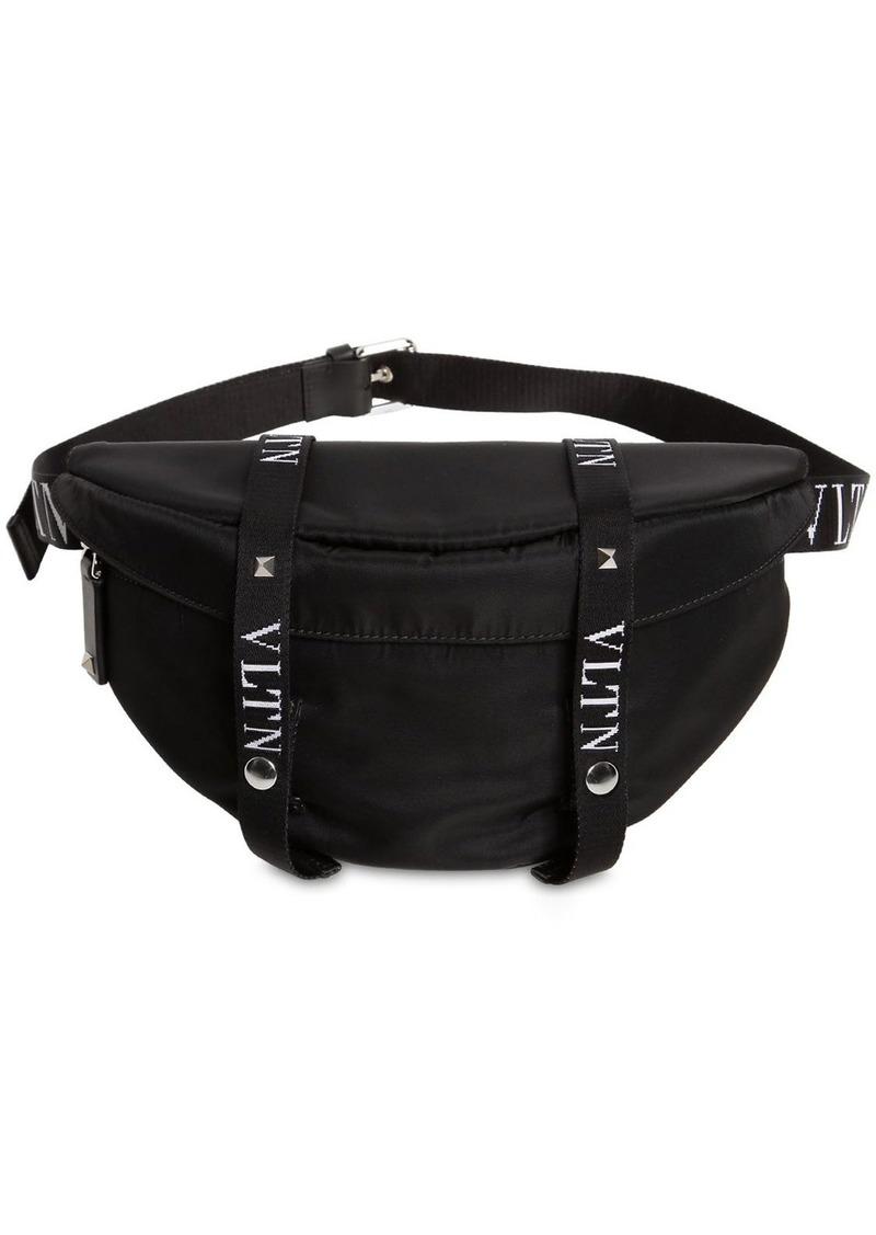 Valentino Logo Nylon Belt Bag
