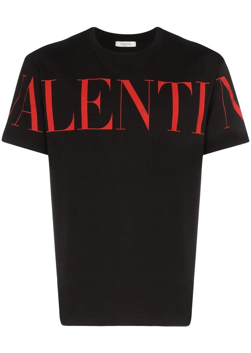 Valentino logo-print crew-neck T-shirt