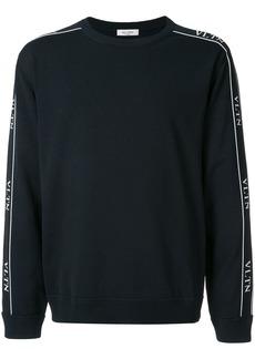 Valentino logo strap sweater