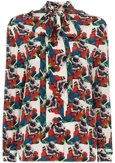 Valentino x Undercover Lovers print blouse