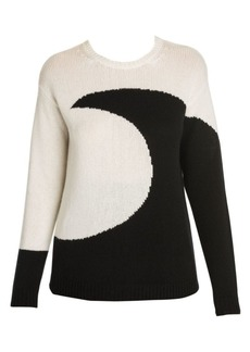 Valentino Luna Cashmere Crewneck Sweater