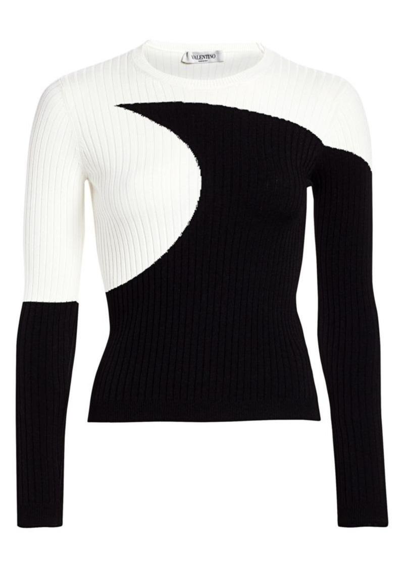 Valentino Luna Knit Sweater