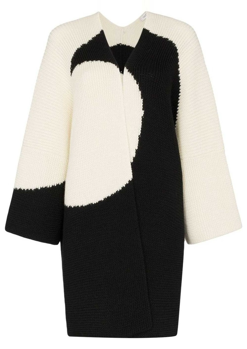 Valentino Luna knitted cape