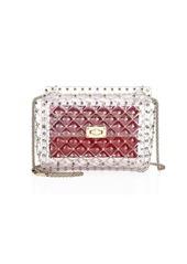 Valentino Medium Rockstud Spike PVC Shoulder Bag