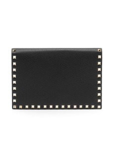Valentino Garavani Medium Rockstud Leather Pouch
