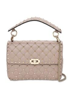 Valentino Medium Spike Leather Shoulder Bag