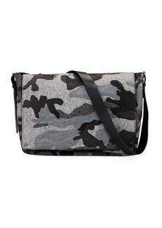 Valentino Men's Camo Crossbody Messenger Bag