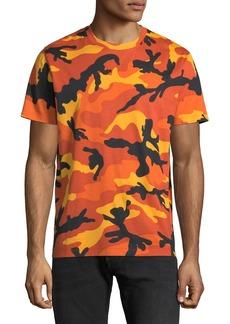 Valentino Men's Camouflage Crewneck T-Shirt