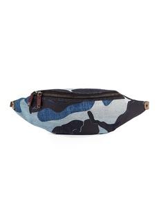 Valentino Men's Camouflage Waist Satchel/Belt Bag