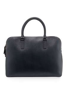 Valentino Men's Leather Briefcase Bag