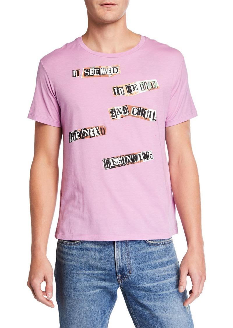 Valentino Men's The Next Beginning Cotton T-Shirt