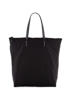 Valentino Men's Studded Leather Tote