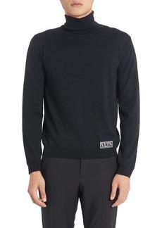 Men's Valentino Cotton Turtleneck Sweater