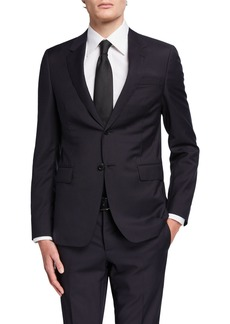 Valentino Men's Wool Solid Suit