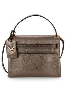 Valentino Metallic Top Handle Bag