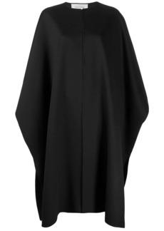 Valentino midi oversized cape