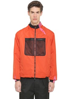 Valentino Nylon Bomber Jacket
