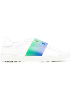 Valentino Open contrast-band sneakers