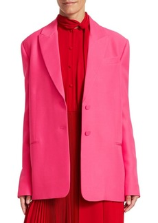 Valentino Oversize Single Breasted Blazer