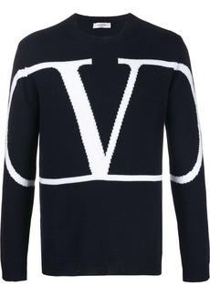 Valentino oversized VLOGO crew neck jumper
