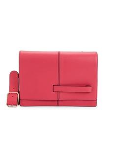 Valentino Paneled Leather Shoulder Bag