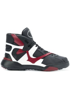 Valentino panelled basketball sneakers